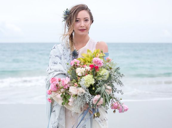 Boho beach wedding 06