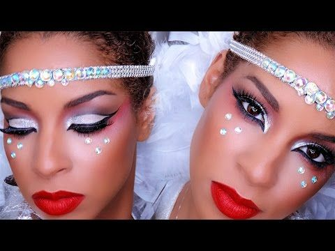 Carnival Makeup Tutorial COLLAB With Queenii Rozenbald