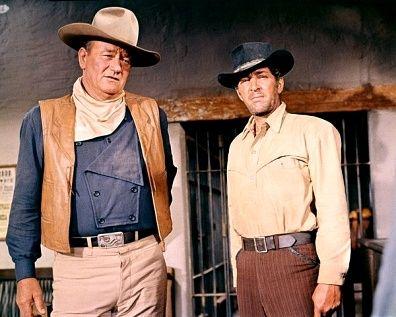 John Wayne and Dean Martin