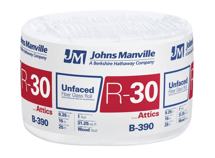 R 30 Faced Fiberglass Roll Insulation With Sound Barrier Roll Insulation Fiberglass Insulation Manville