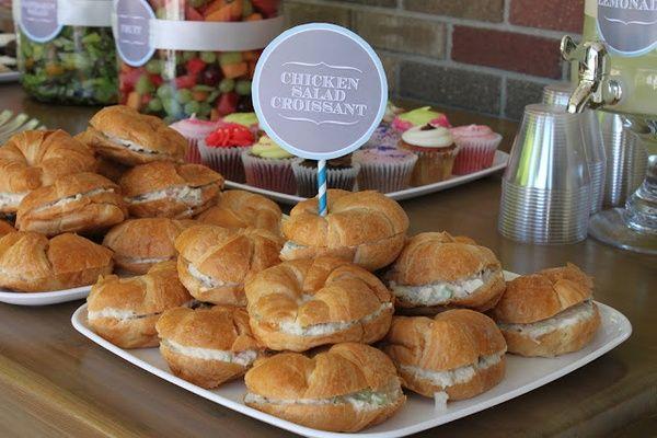 Sandwiches graduation-party-ideas