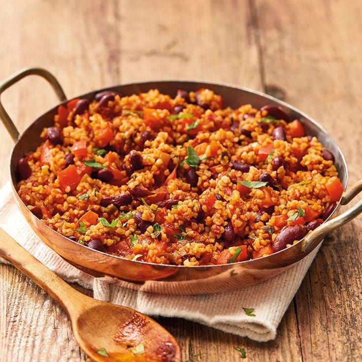 Kochen Sie jetzt Hot Bulgur Pan in 15 Minuten und entdecken Sie zahlreiche andere …