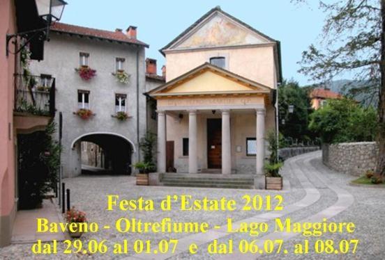 Festa d'Estate – Lago Maggiore - Baveno