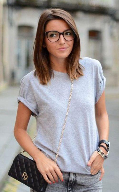 20 besten Frisuren für Frauen mit Brille