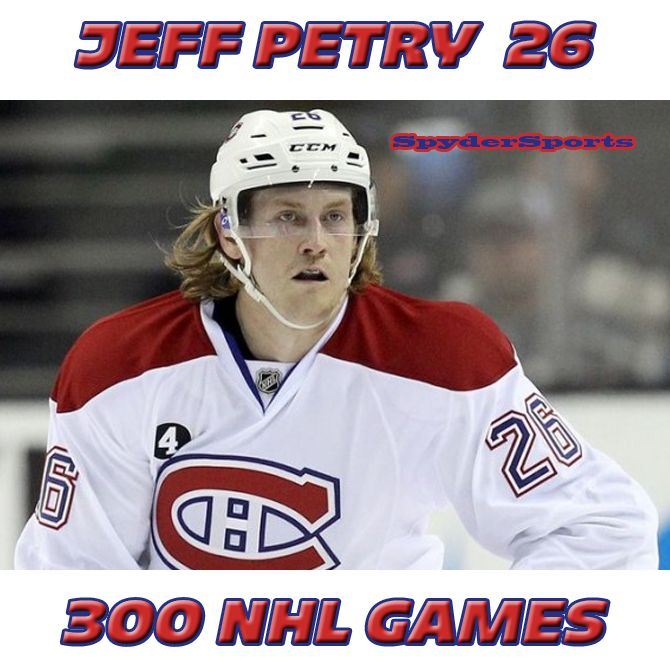 Jeff Petry Reaches 300 NHL Games | Spyder Sports Lounge