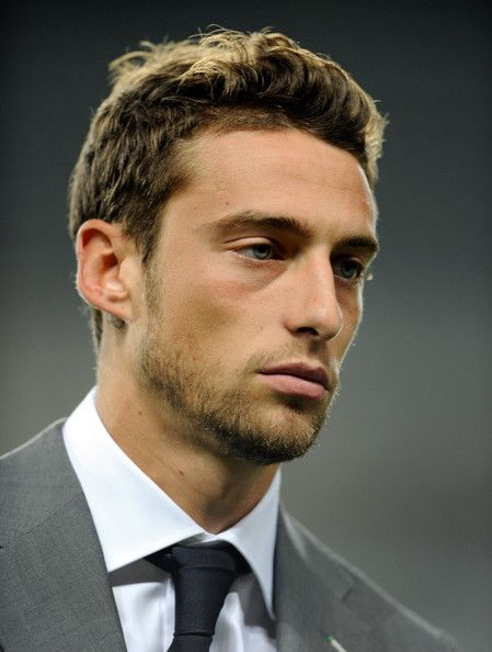 Even though I have always said that I adore the black and blue eye combo, I must learn to be more open to how beauty exists. Claudio Marchisio for example...
