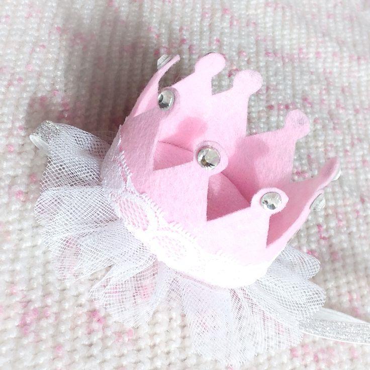 Корона из фетра для принцессы #корона #фетр #длядетей #аксессуары # дляфотосессий #повязочки
