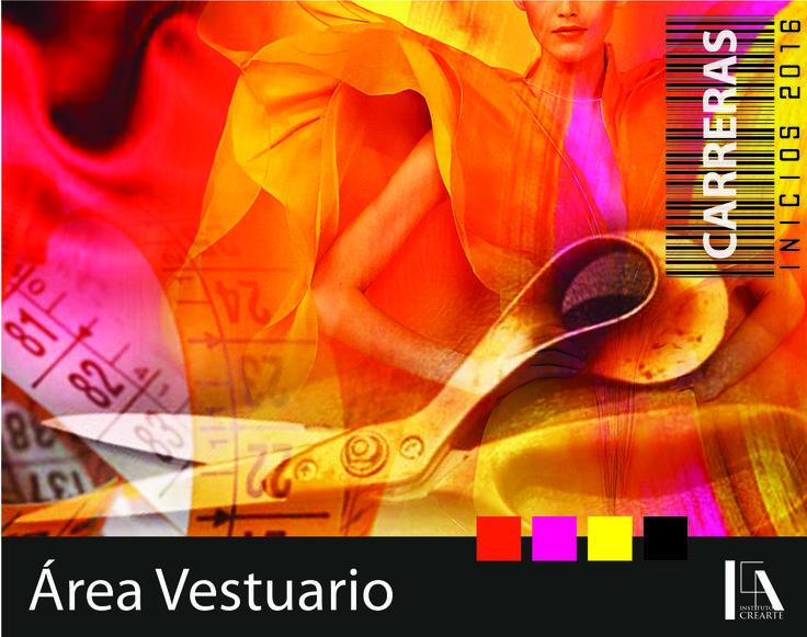 Área Moda y Vestuario: Diseño de Vestuario - Alta Costura - Moldaje Industrial.