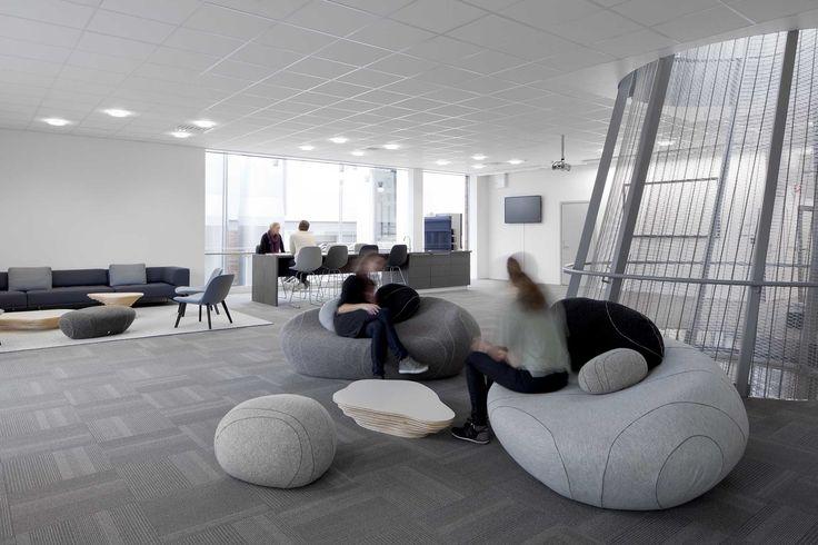 Statoil Stjørdal NOBS — Interior architecture project by IARK.