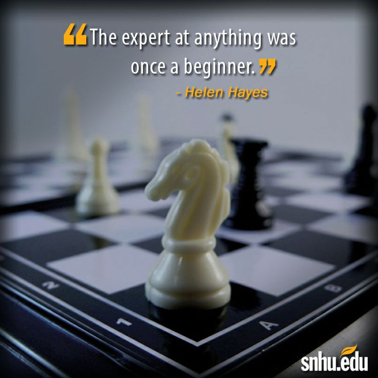 u0026quot the expert at anything was once a beginner  u0026quot