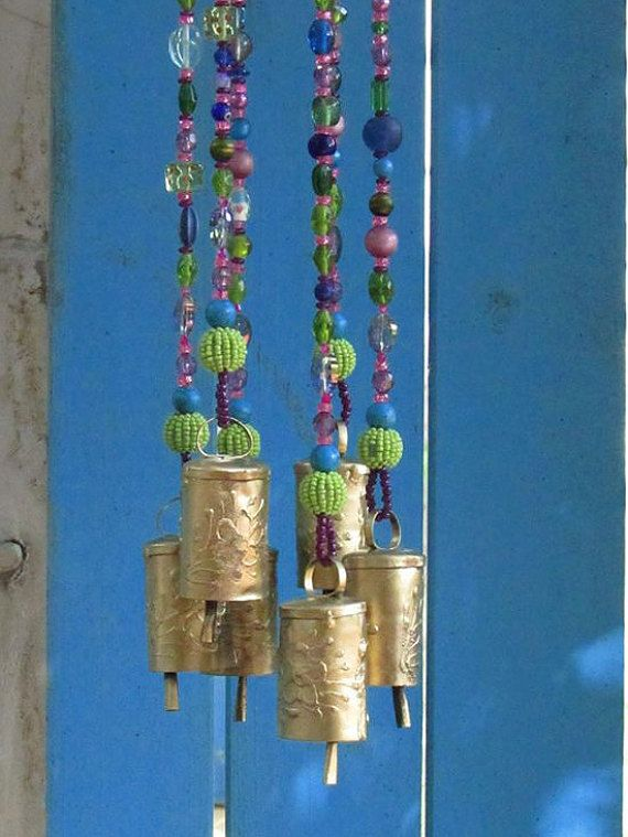 unique wind chimes-outdoor wind chimes-garden wind chimes-glass wind chimes-wind bell-garden decoration-garden bell-outdoor chimes-wind bell