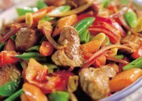 Recept voor Tajine van lamsvlees en lentegroenten | Solo Open Kitchen