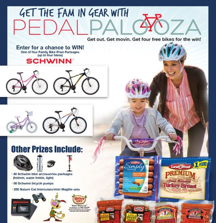 """Land O'Frost PedalPalooza Sweepstakes 