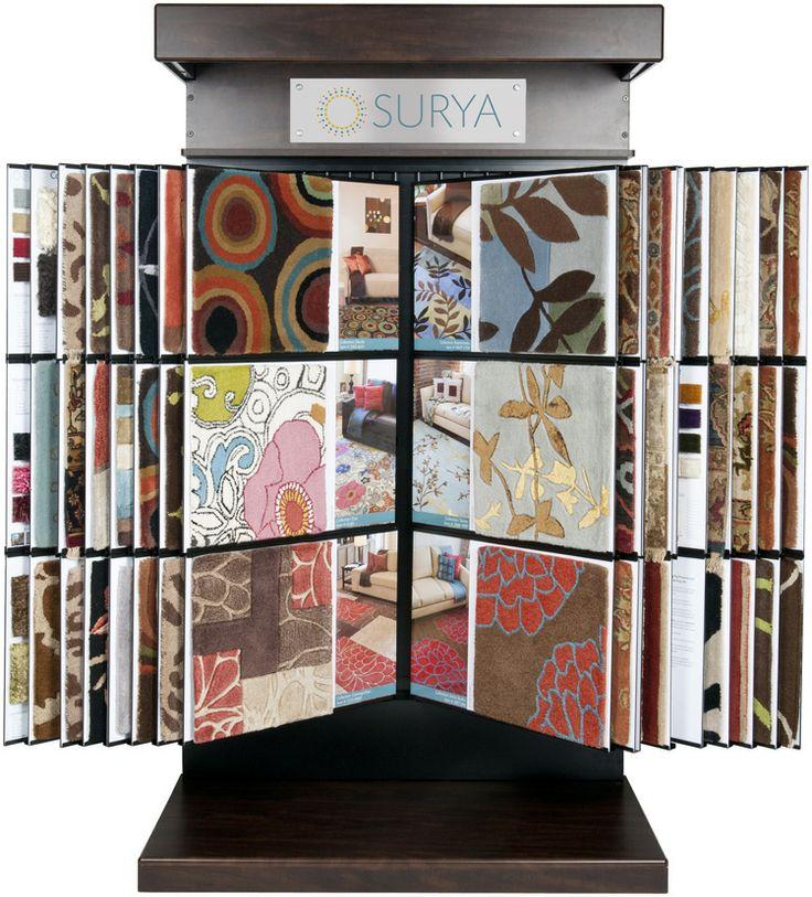 A Surya Design Center Display Rack Is A Favorite Amongst