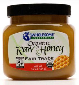 Wholesome Sweeteners Organic Raw Honey, 16 oz.