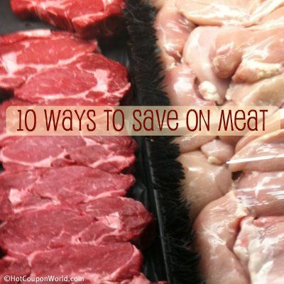 10 Ways to Save On Meat