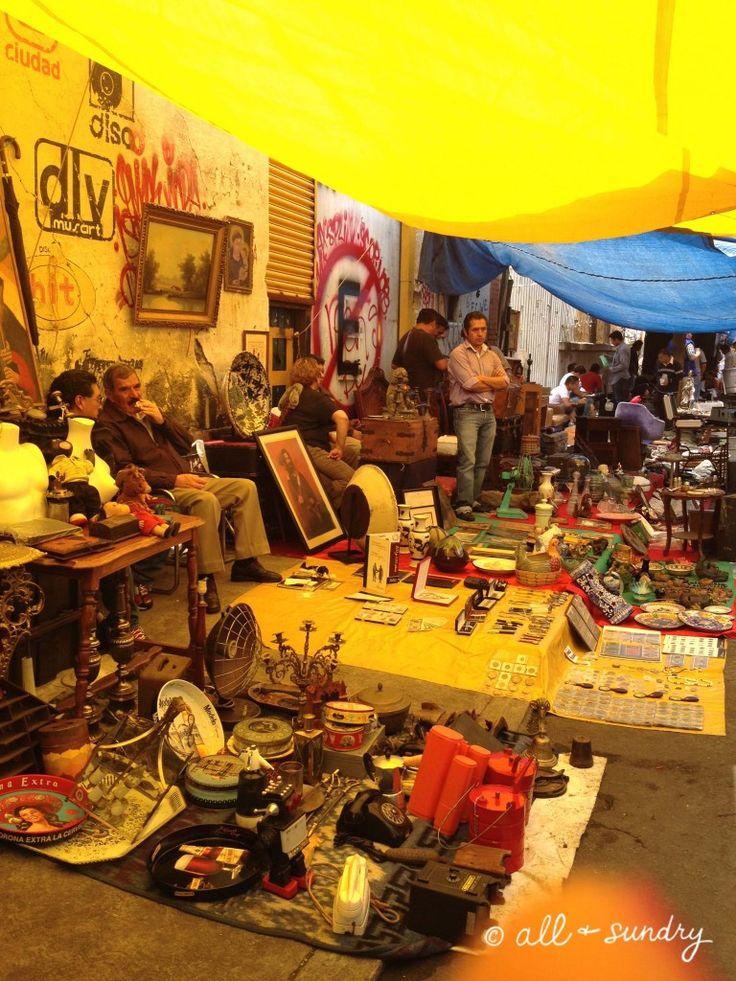 La Lagunilla Flea Market, Mexico DF, by All + Sundry blog #MexicanCulture #Shopping #FleaMarket #Travel #Mexico