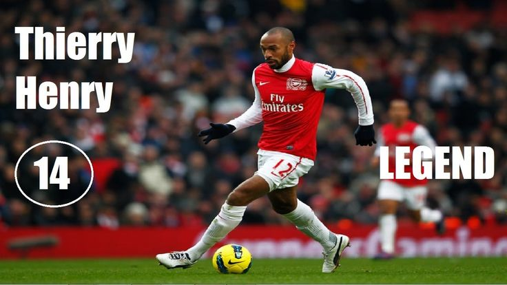 Thierry Henry Legendary Best Goals Ever 1994-2014