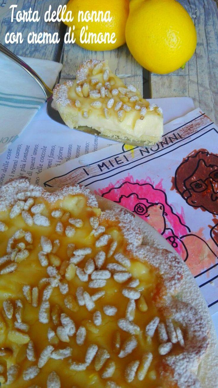 Torta della nonna con crema di limone ricette per tutti for Ricette per tutti i giorni della settimana
