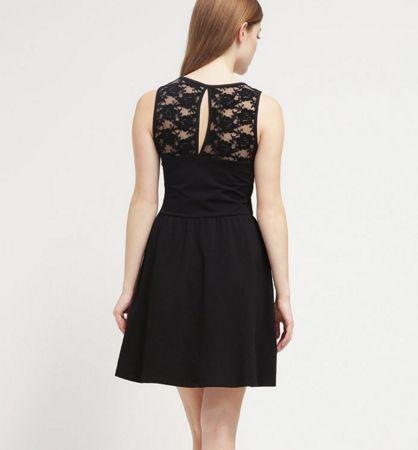 Even&Odd Sukienka z dżerseju black