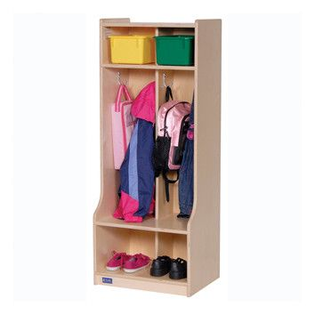 Steffy Two Section Locker with Seat/Step