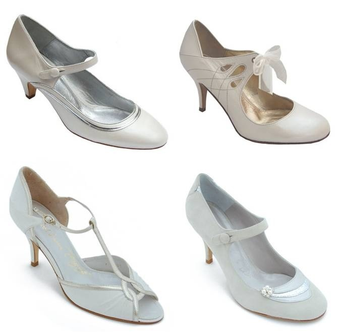 1920s Wedding Shoes 018 - 1920s Wedding Shoes