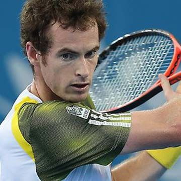 Andy Murray plays with HEAD Graphene XT Prestige Pro Tennis Racquet