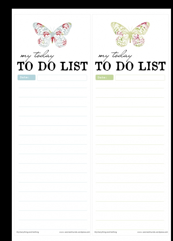 Best To Do List Images On   Planner Ideas Free