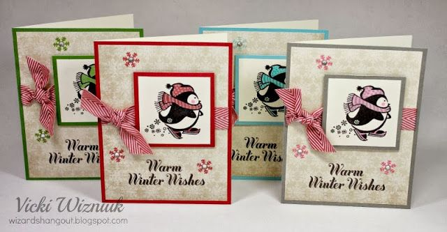 Wintry Wishes Card Set