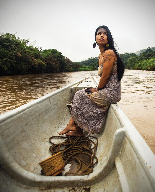 """""""Deep in the Amazon, a Tiny Tribe is Beating Big Oil"""" (article) (via YES Magazine) (12 February 2015) Features the indigenous people of Sarayaku in Ecuador, and their fight to protect themselves and the land from fossil fuel exploitation and the effects of climate change."""