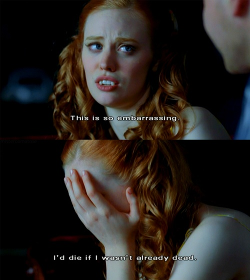 True Blood. Jessica and Hoyt season 2