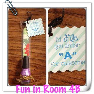 Cute teacher/volunteer gift!