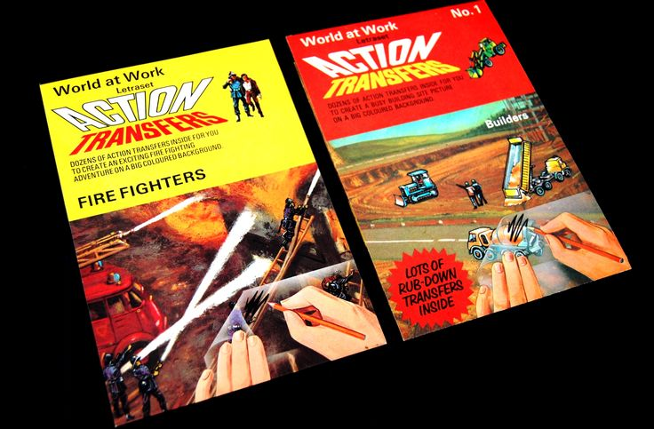 Letraset Action Transfers
