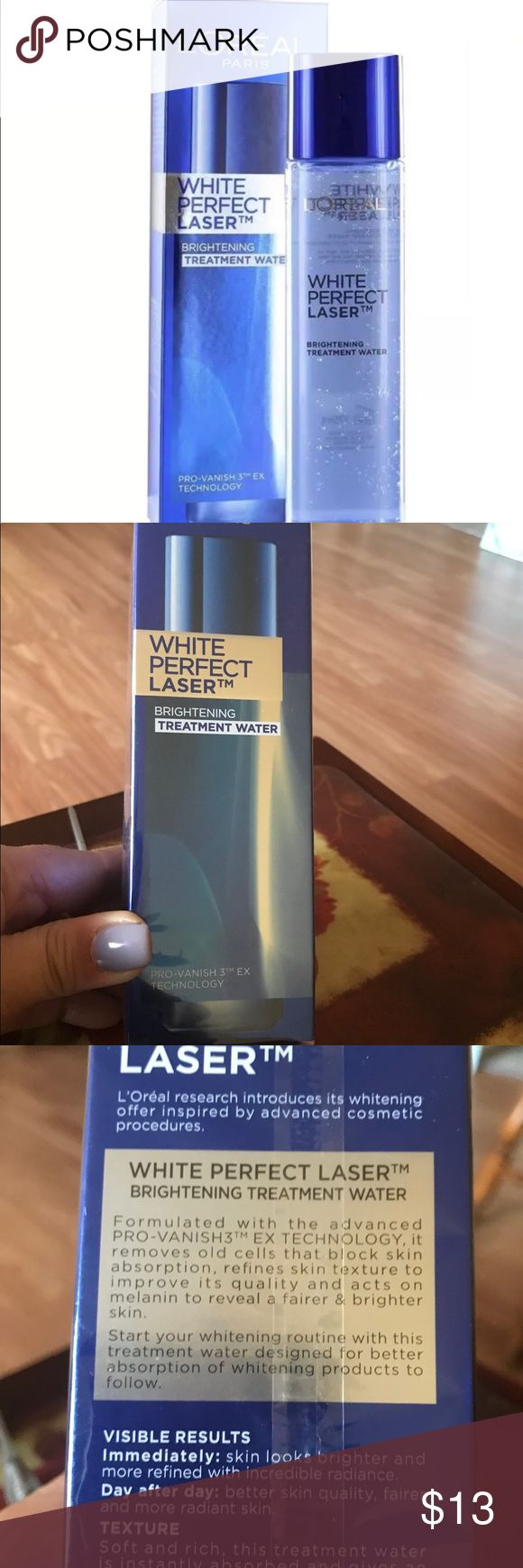 L'Oréal Perfect Laser Brightening Treatment For an incredible radiance and brighter skin  Is great I recommend Loreal Makeup Face Primer