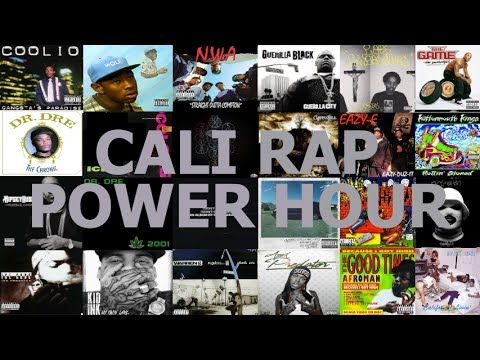West Coast Hip Hop Power Hour Drinking Game