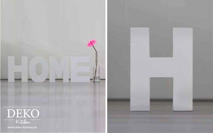 DIY: riesige Deko-Buchstaben selber machen Deko Kitchen
