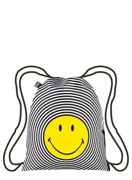 One single smiley. A friendly family of smileys. A perfect pattern of endless smileys. One can't help but smile at the original icon of pure #happiness with the #SMILEY Sprial backpack.