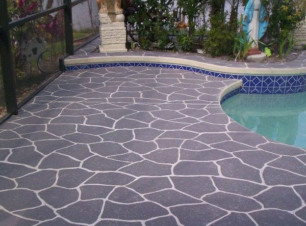 20 best Decorative Concrete Overlays images on Pinterest