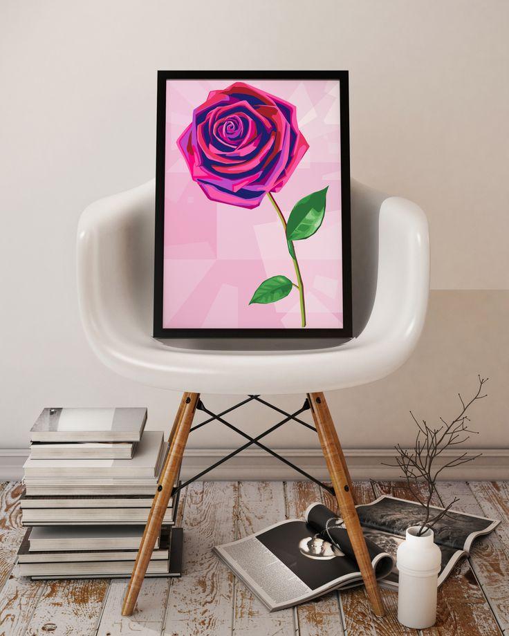 Satur-yay! Denne vakre rosen kan friske opp alles hjem