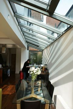 Glazed Side Extension, Brighton