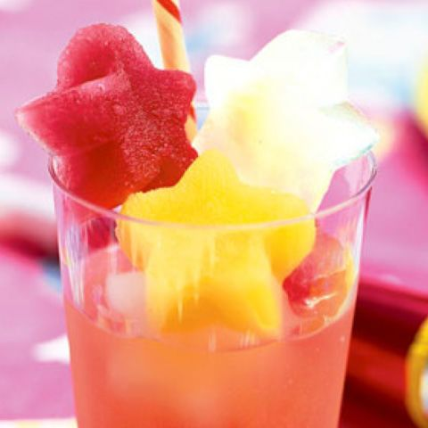 Impress anyone with this eye-popping, non-alcoholic fruit punch, which simply involves freezing your favorite juices into fun shapes then assembling into a glass.  Get the recipe atDelish.  RELATED:18 Summer Nail Designs to Start Perfecting Now