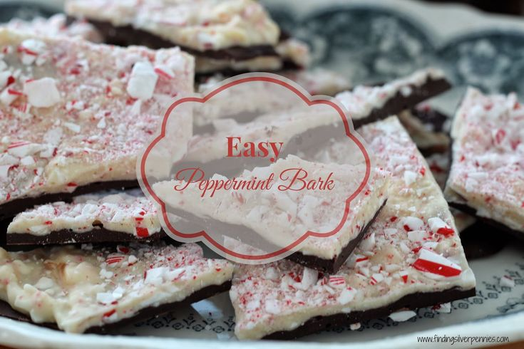 Silver Pennies: Easy Peppermint Bark