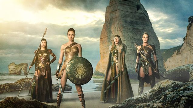 Our First Look at the Amazon Warriors of Wonder Woman