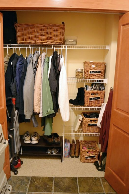 28 Best Images About Utility Hall Closet Organization On