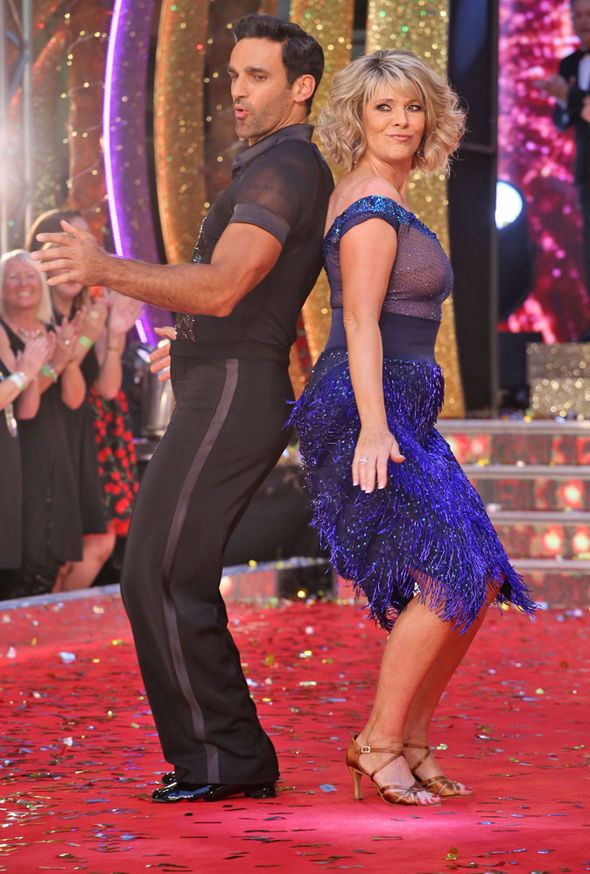 Ruth Langsford & Davood Ghadami: Strictly Come Dancing 2017