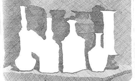Still Life of Vases on a Table (1931) by Giorgio Morandi. Photograph: Galleria d'Arte Maggiore GAM, Bologna