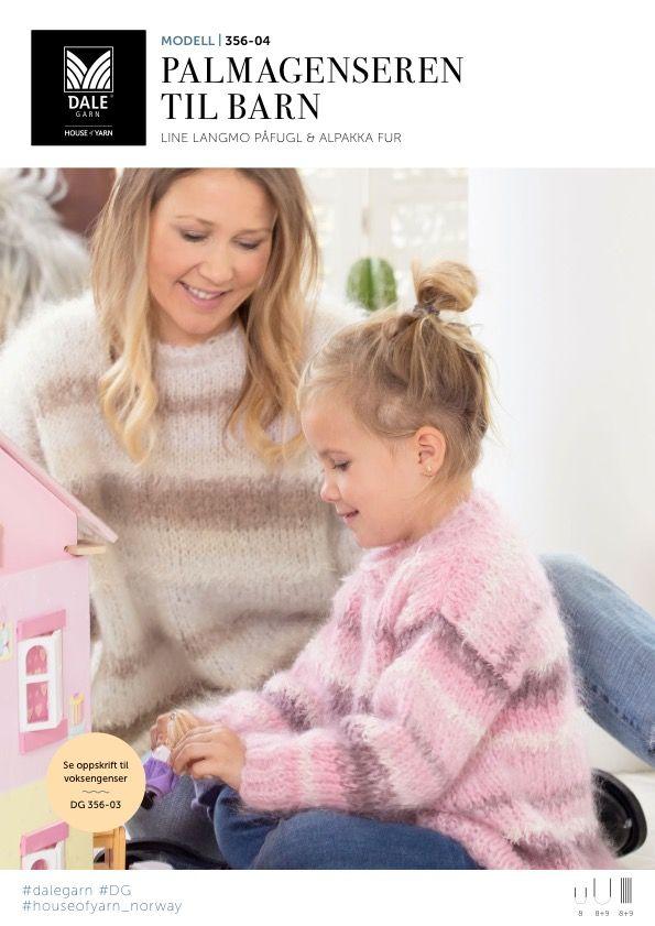 gratis sømoppskrift genser barn