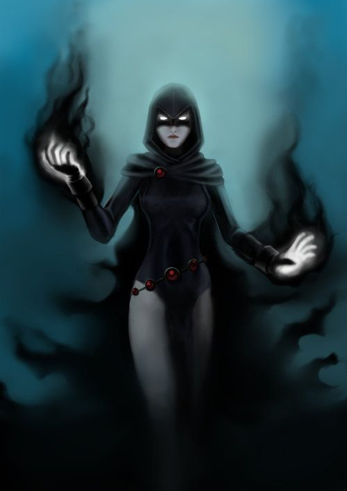 Raven, she is by far my favorite super hero in existence! Teen titans for life.