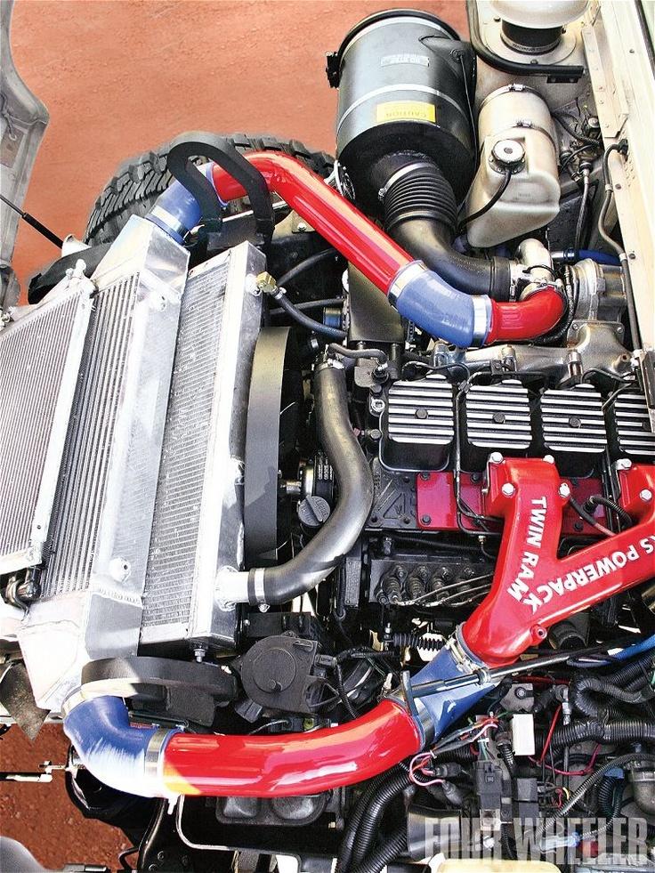 Go Diesel Cummins 6Bt In Hummer Photo 5