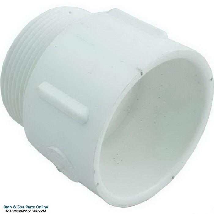 "Lasco SCH40 MIP PVC Adapter [2.5"" Slip x MPT] (436-025)"